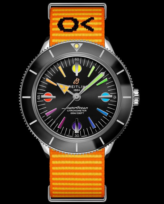 Breitling Superocean Heritage '57 Capsule Collection_superocean-heritage-57-limited-edition-with-an-orange-outerknown-econyl-yarn-nato-strap