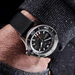 Christopher Ward C60 Elite GMT 1000 swiss made automatic dive watch with second timezone function