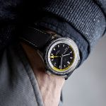 Christopher Ward C65 GMT Worldtimer watch