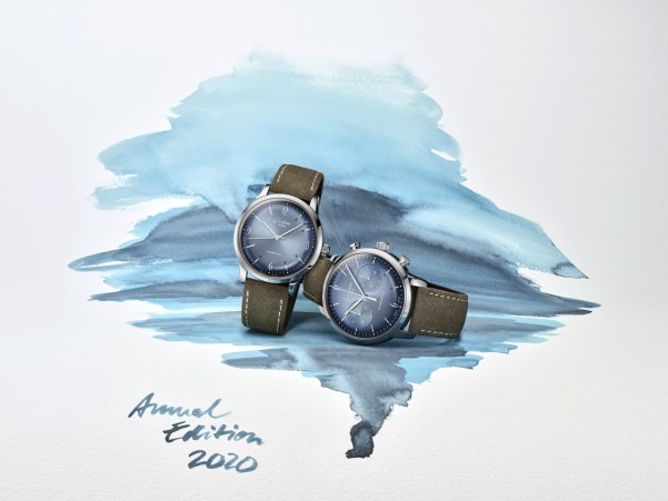 Glashütte Original Sixties and Sixties Chronograph Annual Edition 2020 (With Glacier Blue Dials)