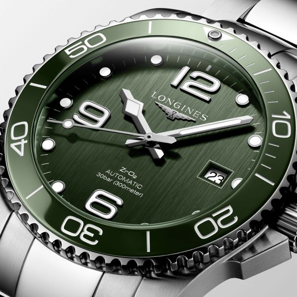 Longines HydroConquest (New Models with Green Hues)