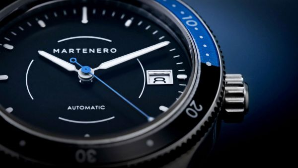 Martenero Belgrano automatic diving watch 200 meters