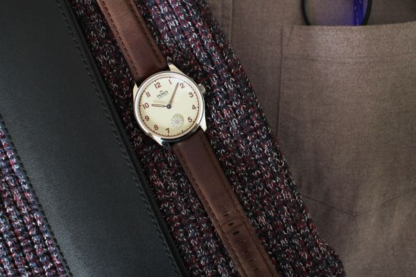 Peren Hintz swiss manual wound watch