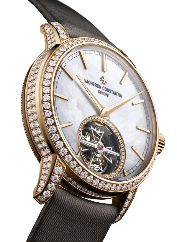 Vacheron Constantin Traditionnelle Tourbillon for women pink gold