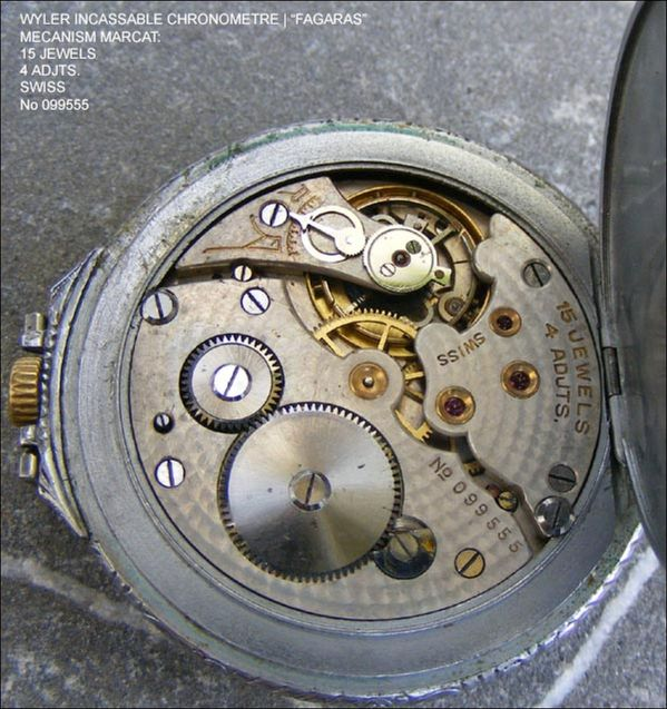 Wyler Eugen Hintz Pocket watch by Paul Wyler & Cie 1