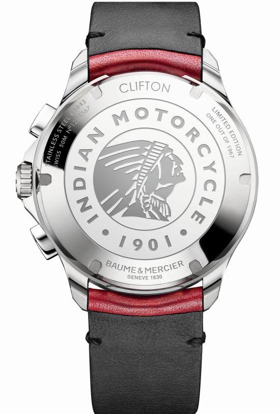 Baume & Mercier Clifton Club Burt Munro Tribute Limited Edition