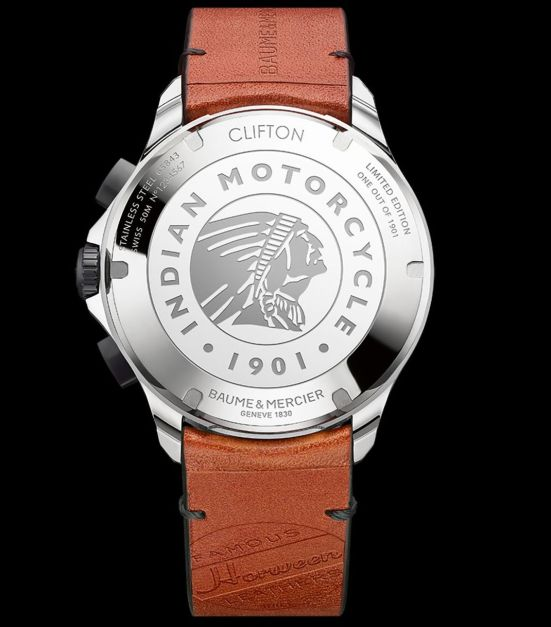 Baume & Mercier Clifton Club Indian® Legend Tribute, Scout® Limited Edition