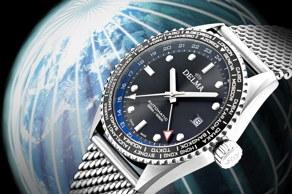 Delma Cayman Worldtimer automatic watch