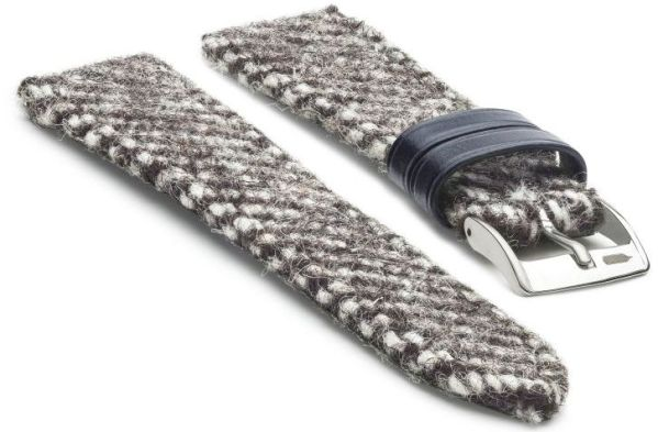 Fears Watch Company-Romney Marsh Wools-New Wool straps - Blackthorn