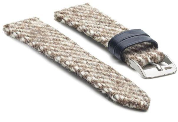 Fears Watch Company-Romney Marsh Wools-New Wool straps - Tawny