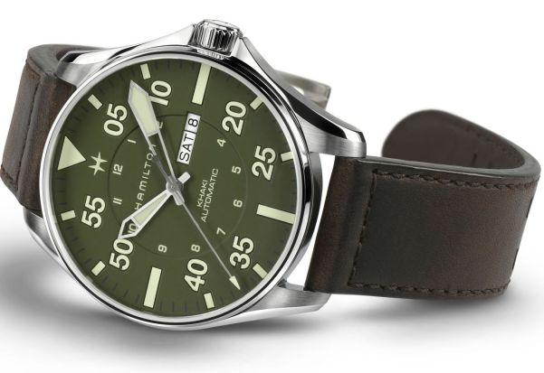 Hamilton Khaki Pilot Schott NYC Limited Edition Automatic watch