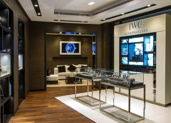 The IWC Schaffhausen boutique, First Jewelry Co., Al-Rossais Commercial Center, Olaya Street, Riyadh 11311