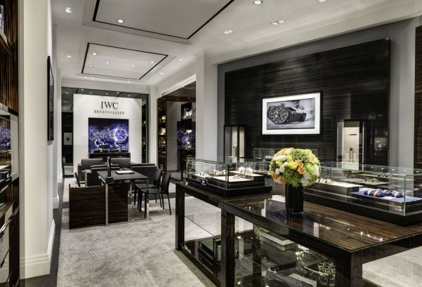 IWC Schaffhausen boutique at the Siam Paragon shopping centre in Bangkok, Thailand