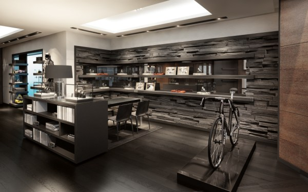 IWC Flagship Boutique New York City: Ingenieur area. (PHOTOPRESS/IWC)