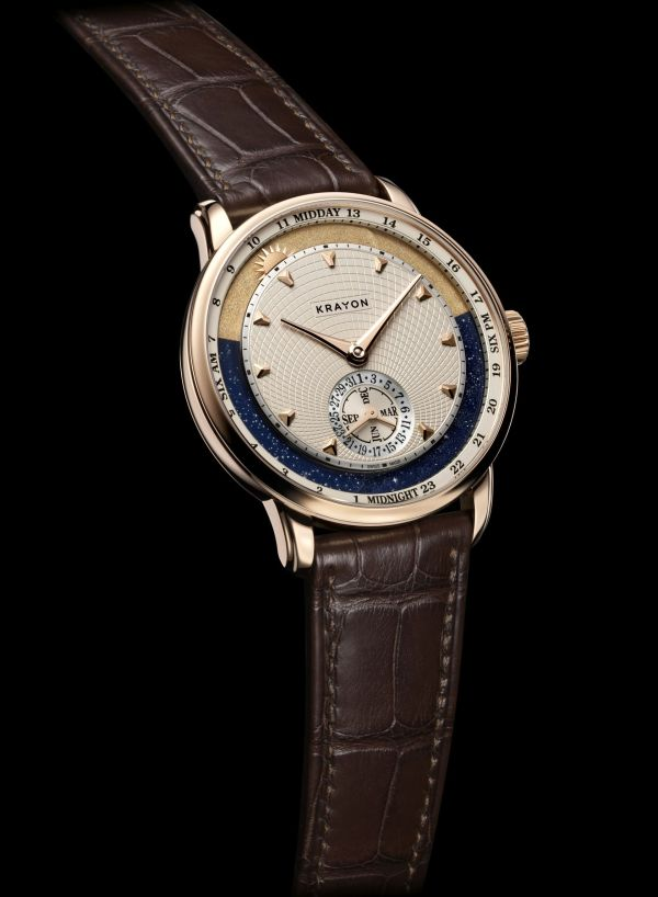 Krayon Anywhere watch by Rémi Maillat rose gold model