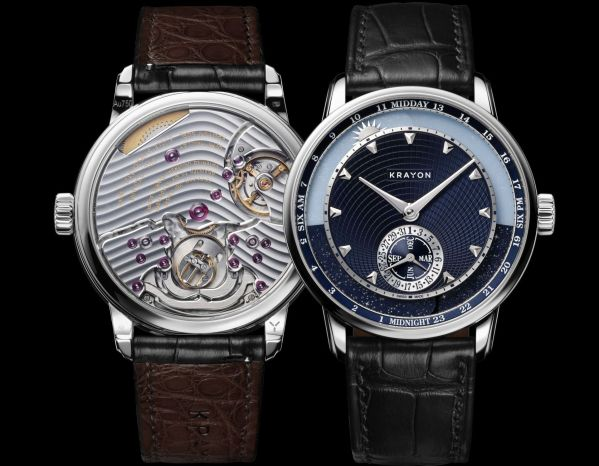 Krayon Anywhere watch by Rémi Maillat white gold model