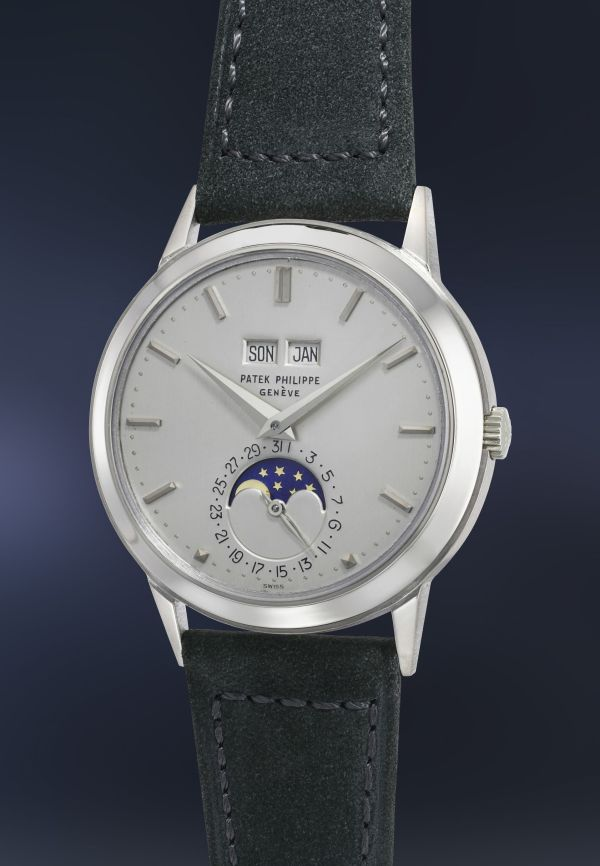 Patek Philippe perpetual calendar reference 3448 white gold