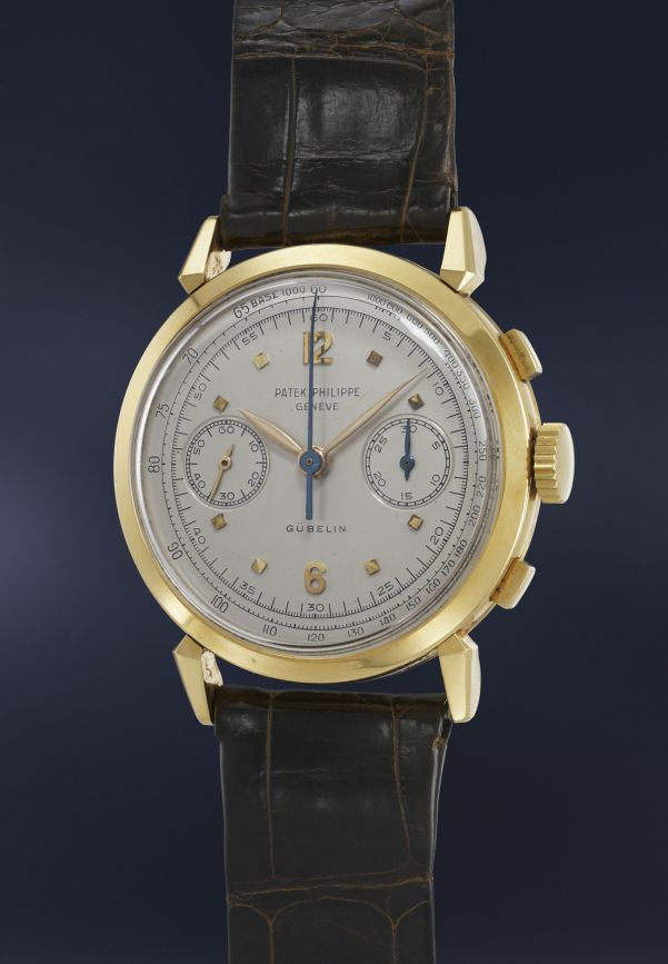 Patek Philippe, Reference 1579 in yellow gold