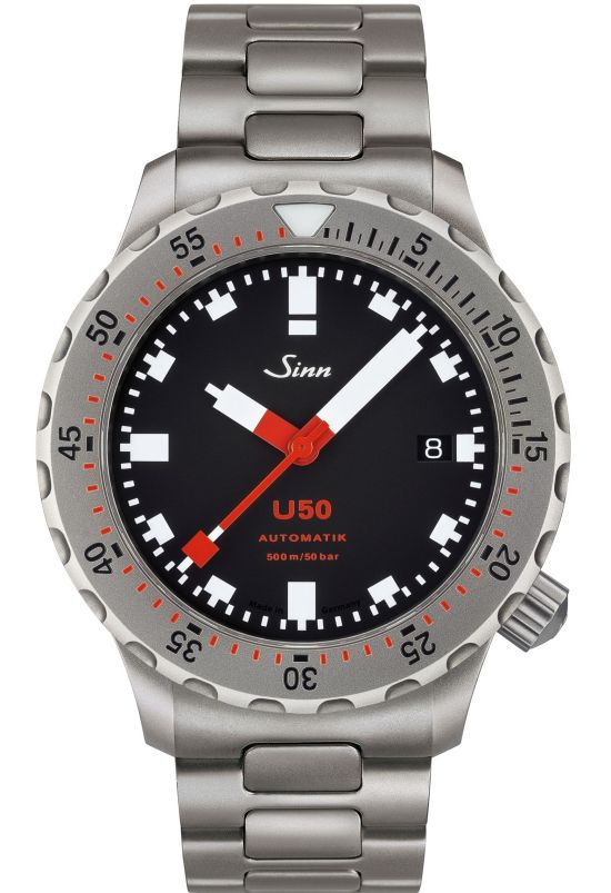 SINN U50-The Diving Watch Made Of German Submarine Steel