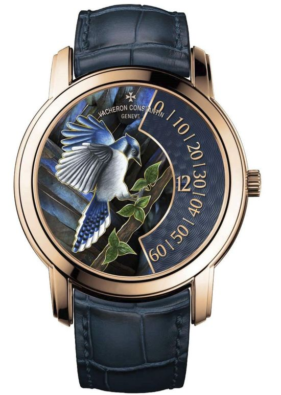 "Vacheron Constantin ""La Musique du Temps®"" Les Cabinotiers - the singing birds - Blue jay, Reference 2010C/000R-B683"
