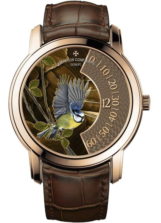 "Vacheron Constantin ""La Musique du Temps®"" Les Cabinotiers - the singing birds - Blue tit, Reference 2010C/000R-B682"