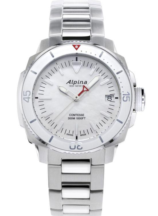 Alpina Seastrong Diver Comtesse Quartz AL-240MPW2VC6B