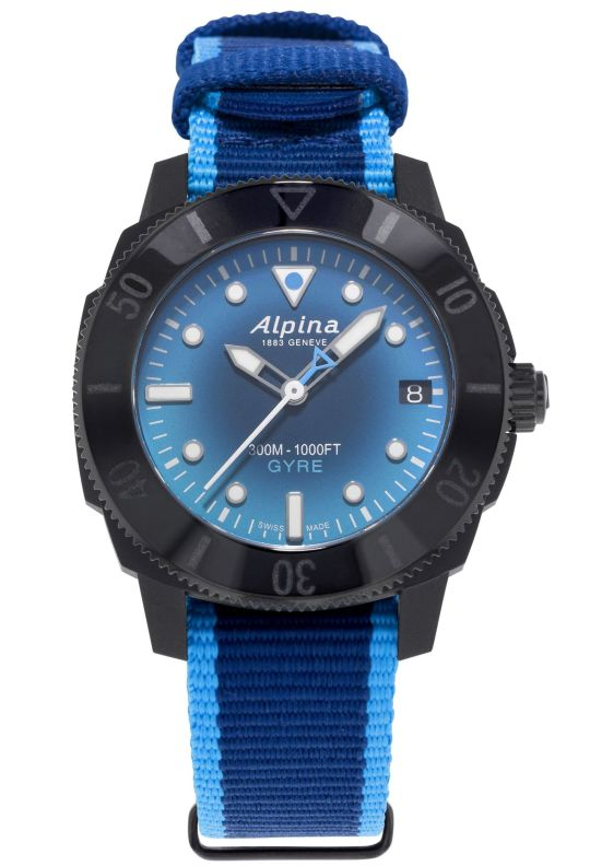 Alpina Seastrong Diver Gyre Ladies Automatic, Reference: AL-525LNSB3VG6