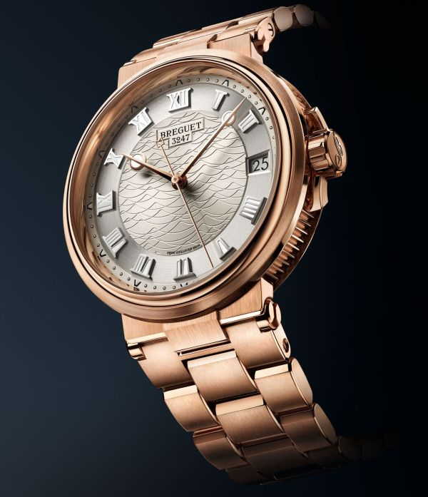 Breguet Marine 5517 rose gold version with bracelet (Reference 5517BR/12/RZ0)