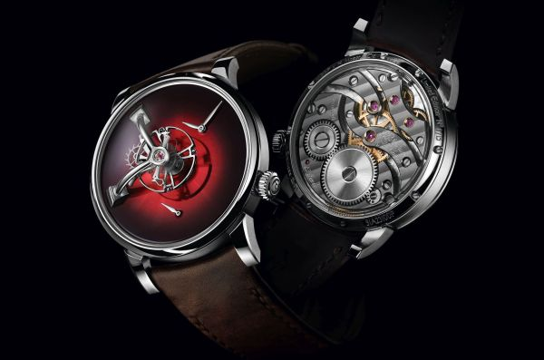LM101 H. Moser X MB&F Limited Edition with Red fumé dial