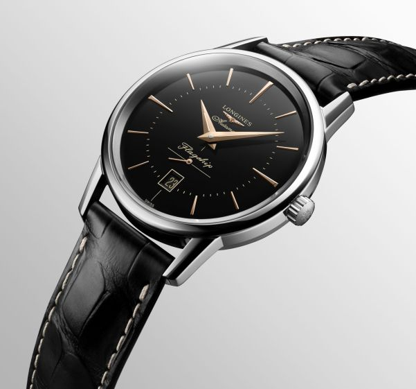 Longines Flagship New Model with Black Dial