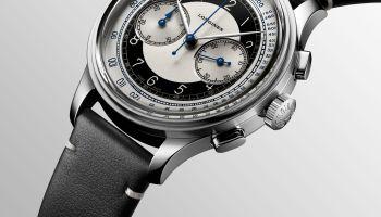 Longines Heritage Class Tuxedo Chronograph automatic
