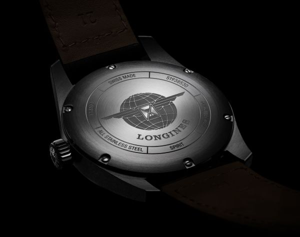 Longines Spirit Collection caseback view