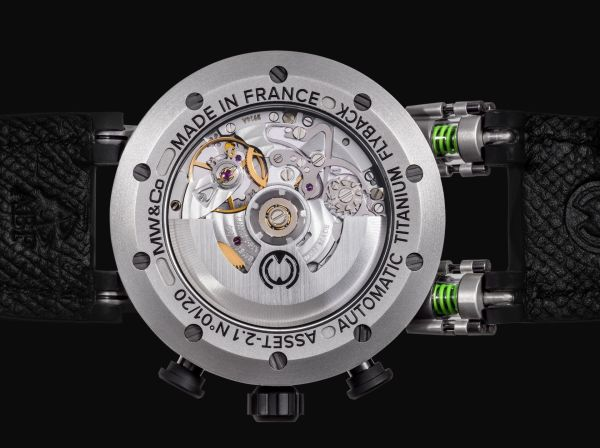 MW&Co.Asset 2.1 Automatic Flyback Chronograph