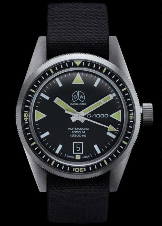 Ollech & Wajs OW C-1000 diving watch