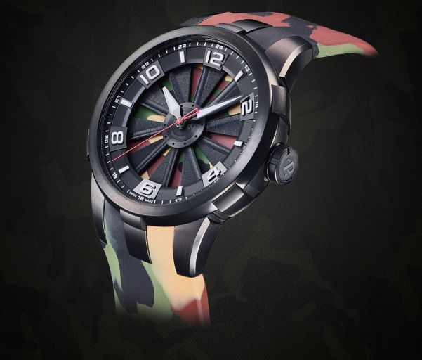 Perrelet Turbine Camo Limited Edition
