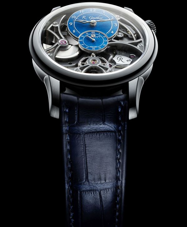 Romain Gauthier Insight Micro-Rotor Squelette Limited Edition Platinum