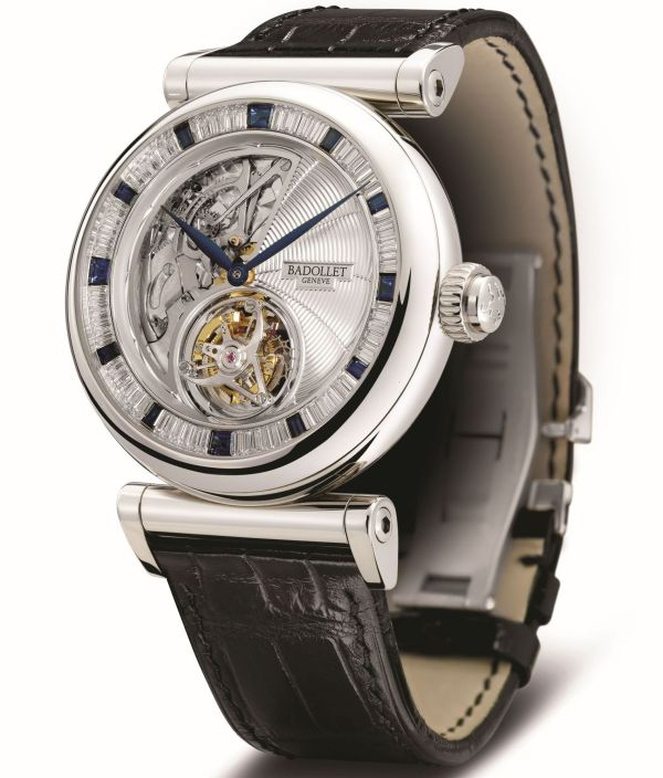 Badollet Observatoire 1872 Minute Repeater with flying tourbillon