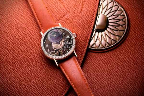 Breguet Tradition Dame 7038 Boutique Edition (Rose Gold Case and Off-Centered Tahitian Mother-Of-Pearl Dial)