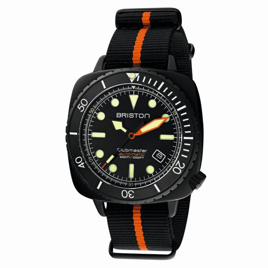 Briston Clubmaster Diver Pro automatic diving watch