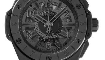 Hublot Big Bang GMT All Black Yohji Yamamoto Limited Edition