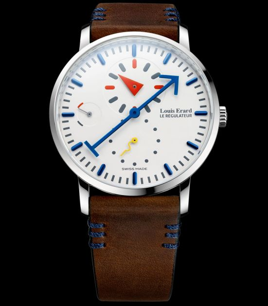 Louis Erard Limited Edition Regulator Watch Designed by Alain Silberstein (The First Collaboration between Louis Erard and Alain Silberstein)