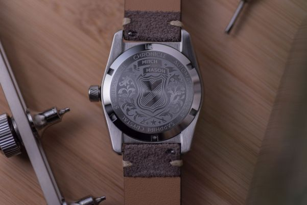 Mitch Mason Chronicle Collection automatic watches inspired by vintage military watches