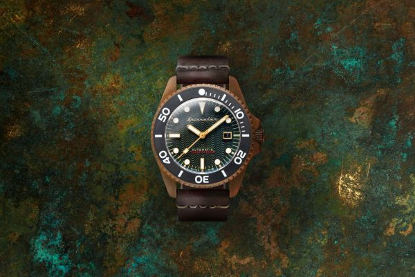 Spinnaker Tesei Bronze Automatic diving watch Swiss movement