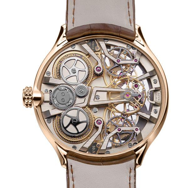Bernhard Lederer Central Impulse Chronometer rose gold caseback