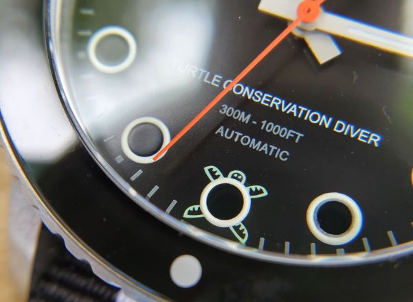 Flamingo Collective Turtle Conservation Professional Dive Watch
