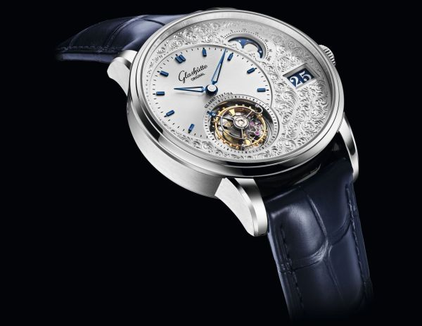 Glashütte Original PanoLunarTourbillon Limited Edition Platinum Case