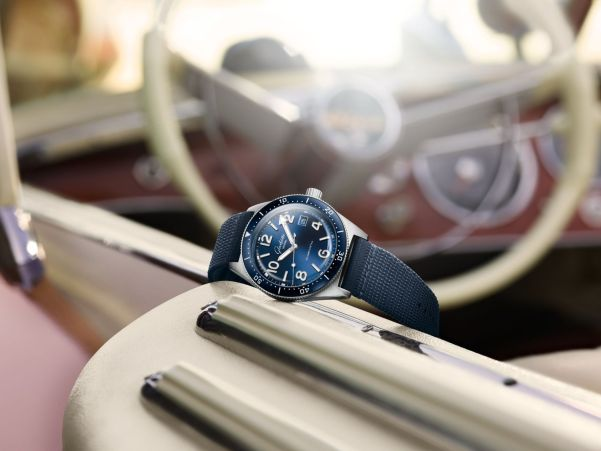 Glashütte Original SeaQ line New Models 2020 Galvanic blue dial and with synthetic strap