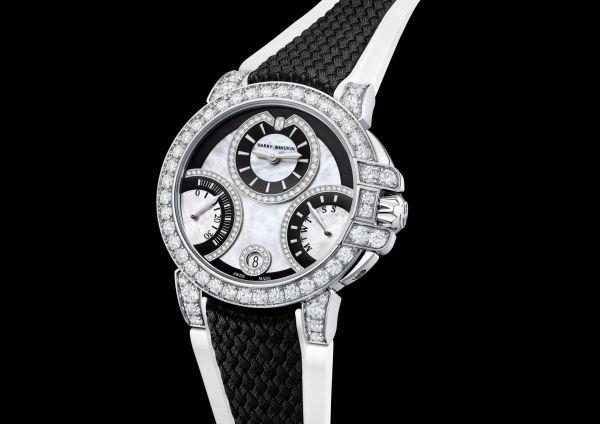 Harry Winston Ocean Biretrograde Black & White Automatic 36mm