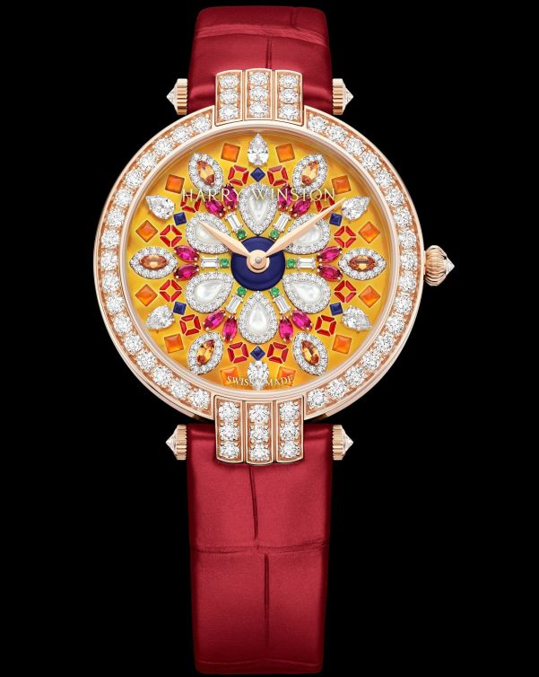 Harry Winston Premier Precious Kaleidoscope Automatic 36mm 18K rose gold version