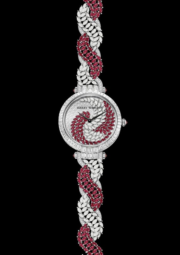 Harry Winston Twist Automatic (High Jewelry Timepieces Collection)